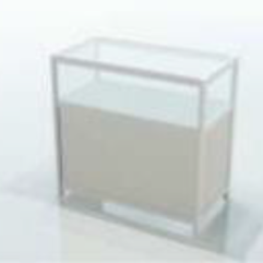 Glass-case 100 cm